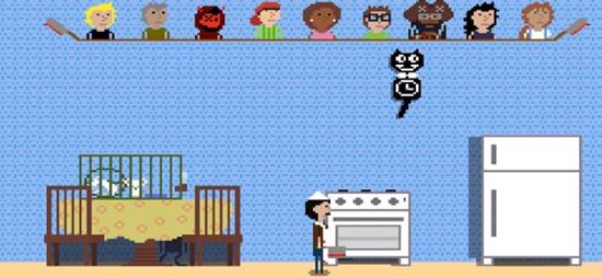 厨师躲猫猫