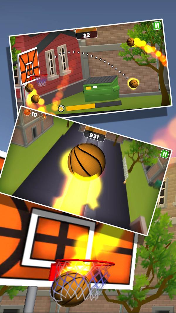 篮球投篮游戏