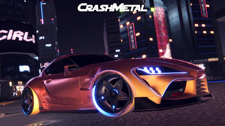 崩溃金属赛车