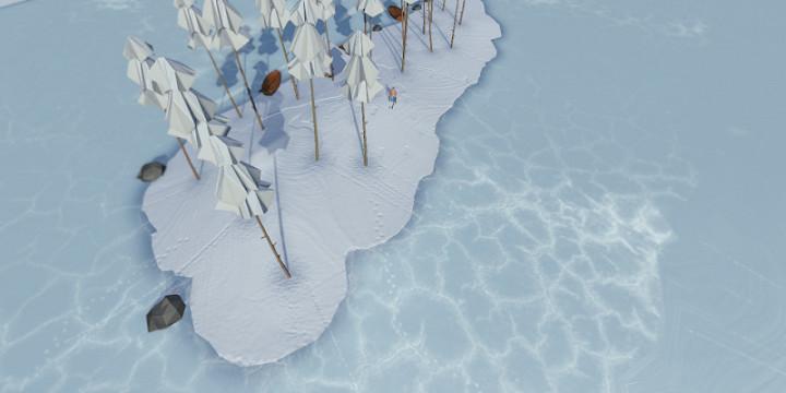 雪山冒险游戏