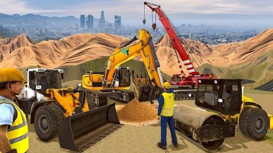 城市道路建造